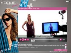 interfaccia Vogue Channel